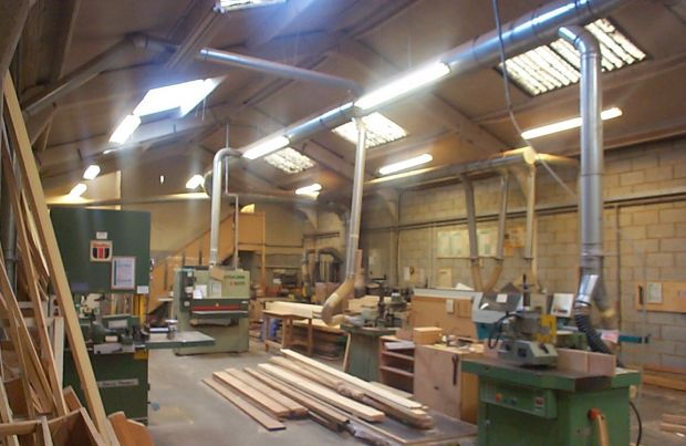 Joinery Machine Shop