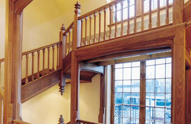 American White Oak 8 Flight Staircase