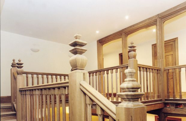 8 Flight American White Oak Staircase
